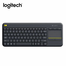 Logitech K400 Plus Wireless Keyboard with Touchpad Keyboard For PC TV