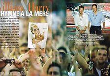 Coupure de Presse Clipping 2007 (4 pages) Prince William & Harry Pour Diana