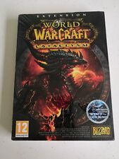 world of warcraft cataclysm extension jeu game pc neuf blister new scelled