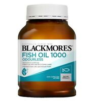 Blackmores-Odourless Fish Oil 1000mg 400 Capsules