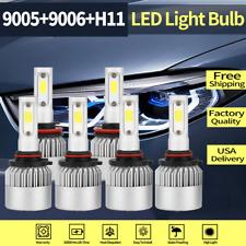 9005 H11 9006 Fog Light+Headlight Hi/Lo Beam-LED For 2005-2006 Lexus ES330 BJ16