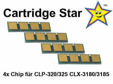 4x Toner Reset Chip für Samsung CLP 320 325 CLX 3180 3185