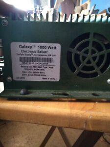 Galaxy 1000W Electronic Digital Ballast 120V/240V Dimmable 902518 Grow 1000 watt
