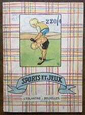 Sport. Sportbilderbuch. Tamara Ramsay. - Sports et Jeux. 1920