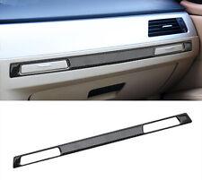 Car Co-pilot Water Cup Holder Decal Cover Trim For BMW E90 Carbon Fiber Strip