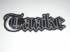 TAAKE BLACK METAL IRON ON EMBROIDERED PATCH