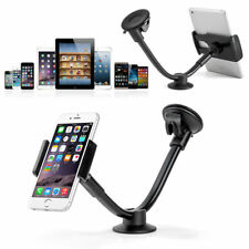 2in1 360° Universal Car Windshield Mount Holder Stand For Mobile Tablet Gps 7""