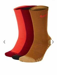 Nike Everyday Max Cushioned Training Socks 3-Pairs, L Men 8-12 Wmn 10-13