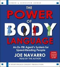 NEW 6 CD The Power of Body Language by Joe Navarro