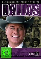 """3 DVD Box Dallas """" Staffel 10 - Larry Hagman - NEU OVP"""