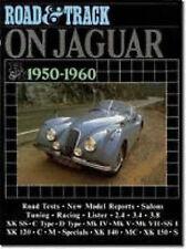 Book - Road & Track on Jaguar 1950-1960 XK IV VII 3.4 3.8 - New copy Brooklands