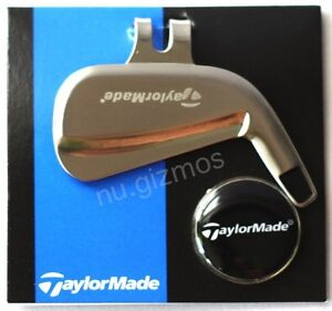 BRAND NEW TAYLORMADE - MAGNETIC GOLF HAT CLIP and BALL MARKER