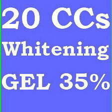 35% TOOTH TEETH WHITENING WHITENER GEL 20cc FAST 80apps - SUPER FAST SHIPPING!