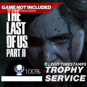 PS4 Platinum Trophy Service for The Last Of Us Part II ( PSN Trophies )