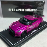 1/64 MINI GT-R LB WORKS Nissan GT-R R35 GT Wing Flash Pink Ltd 500 pcs