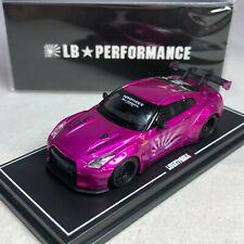 1/64 MINI GT-R LB WORKS Nissan GT-R R35 GT Wing Flash Pink Ltd 500 pcs
