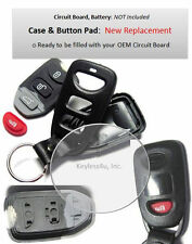 Case Shell Button Pad for Kia remote keyless entry transmitter SEKS-TF10ATX FOB