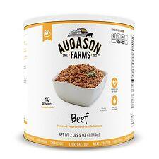 Augason Farms Emergency Food Beef Vegetarian Meat Substitute, 37 oz