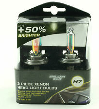Brilliant Blue Xenon Effect H7 12v 55w Headlight Bulbs Twin Pack