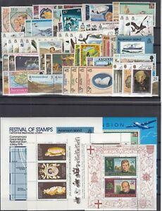 Ci7264/ BRITISH ASCENSION – 1973 / 1979 MINT MNH COLLECTION – CV 170 $