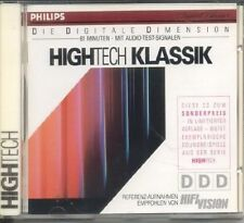 High-Tech Klassik (1989, Philips, Hifi Vision) | CD | Strauss, Bach, Vivaldi..