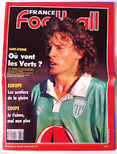 France Football du 12/03/1991; Saint-Etienne; où vont les verts/ Europe