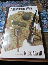 Articles of War : A Novel by Nick Arvin (2005, Hardcover)