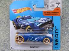 Hot Wheels 2015 #044/250 ROCKETFIRE blue TREASURE HUNT T-Hunt
