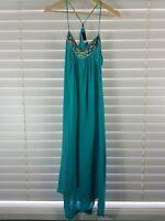 JETS BY JESSIKA ALLEN sz 14 (or L  / 10 us ) womens maxi dress [#1171]