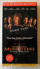 The Three Musketeers ~ Disney VHS Movie Demo Tape Screener Promo Video ~ Rare