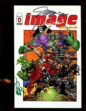 IMAGE ZERO #0 SIGNED BY JIM LEE, LARSEN, & PORTACIO!