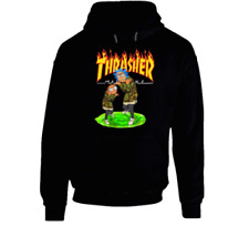 Rick T-SHIRT/Hoodie Thrasher Sweatshirt morty KIDS & ADULTS Pullover xs-3xl
