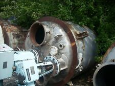 11177 012 Used 1238 Gallon Stainless Steel Reactor Type 304 Stainless Steel