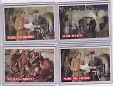 1956 Davy Crockett cards, Lot Of 4   A3