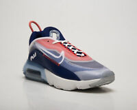 Nike Air Max 2090 Men's White Chile Red Casual Athletic Lifestyle Sneakers Shoes