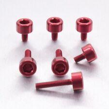 Pro-Bolt Aluminium Fuel Cap Kit Honda - Red Honda CBR929RRY-RR1 Fireblade 00-01