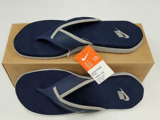 NIKE MEN/WOMEN CELSO THONG PLUS FLIP FLOP SANDAL BLUE/GREY SIZE 7/8.5