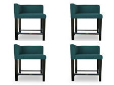 4x Design Pads bar Stool Stool Chairs Seat Counter Catering bar New