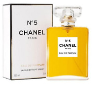 CHANEL NO.5 by Chanel Eau de Parfum Spray Womens 100 ml / 3.4 Oz NEW & Sealed