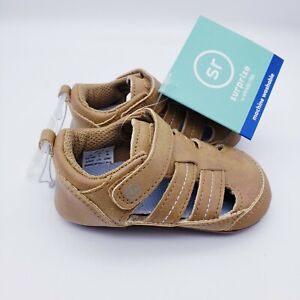 Baby Boys Surprize by Stride Rite shoes Tan 6-12M