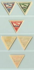 Latvia, 1931, SC CB3a-CB5a, mint, imperf. d7769