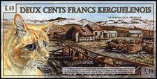 Archipiélago del Kerguelen/Kerguelen Islands 200 francos 2010 (1)