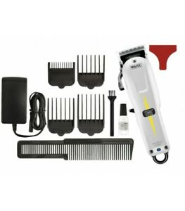 Wahl Super Taper Cordless - White lithium battery barbers fave hair clippers