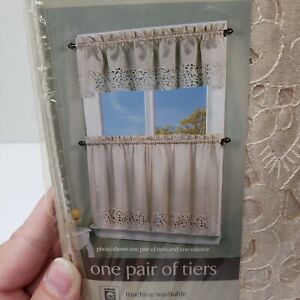 Sears Solid Pattern Window Curtains Drapes For Sale Ebay