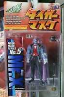 Tiger Mask Mr.X No. 5 Action Figure Xebec toys Kaiyodo Uomo Tigre new!!!!!nuovo