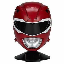 Power Rangers Mighty Morphin Legacy Ranger Helmet Red Cosplay Pretend Mask Toy