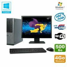 PC de bureau Dell avec intel pentium g pour 4 Go maximale de la ram