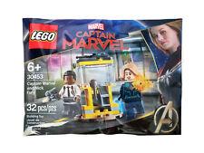 LEGO - Captain Marvel and Nick Fury Polybag - 30453 Brand NEW