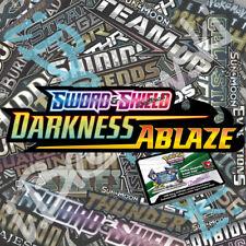 50x Pokémon Sword Shield Darkness Ablaze Online Booster Codes PTCGO Sent Quick