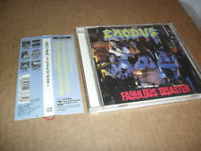 EXODUS -FABULOUS DISASTER- VERY HARD TO FIND RARE ORIGINAL CD JAPANESE 1ST PR